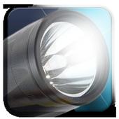 Flash light and alarm icon