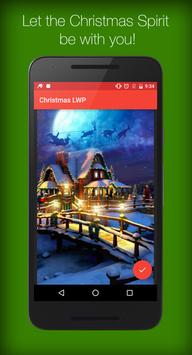 Merry Christmas LWP poster