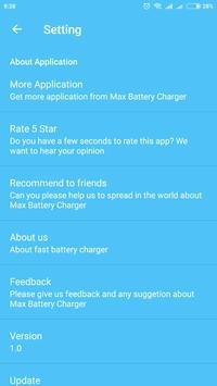 Max Battery Charging screenshot 5