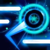 Neon Ball Runner - arcade game icon