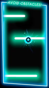 Neon Ball Runner - arcade game screenshot 1