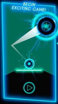 Neon Ball Runner - arcade game screenshot 3