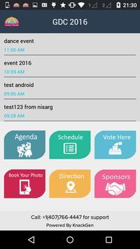 GDC 2016 apk screenshot