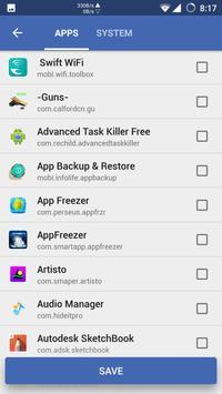 Advanced Task Killer screenshot 3