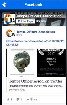 Tempe Officers Association apk screenshot