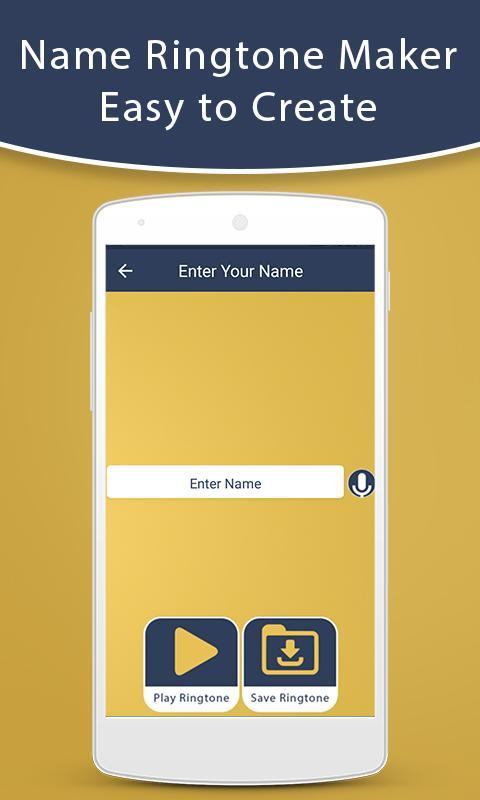 My Name Ringtone Maker for Android - APK Download