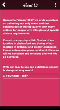 The Essex Dessert Company screenshot 4