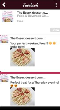 The Essex Dessert Company screenshot 2