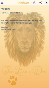 The Lions Den screenshot 2