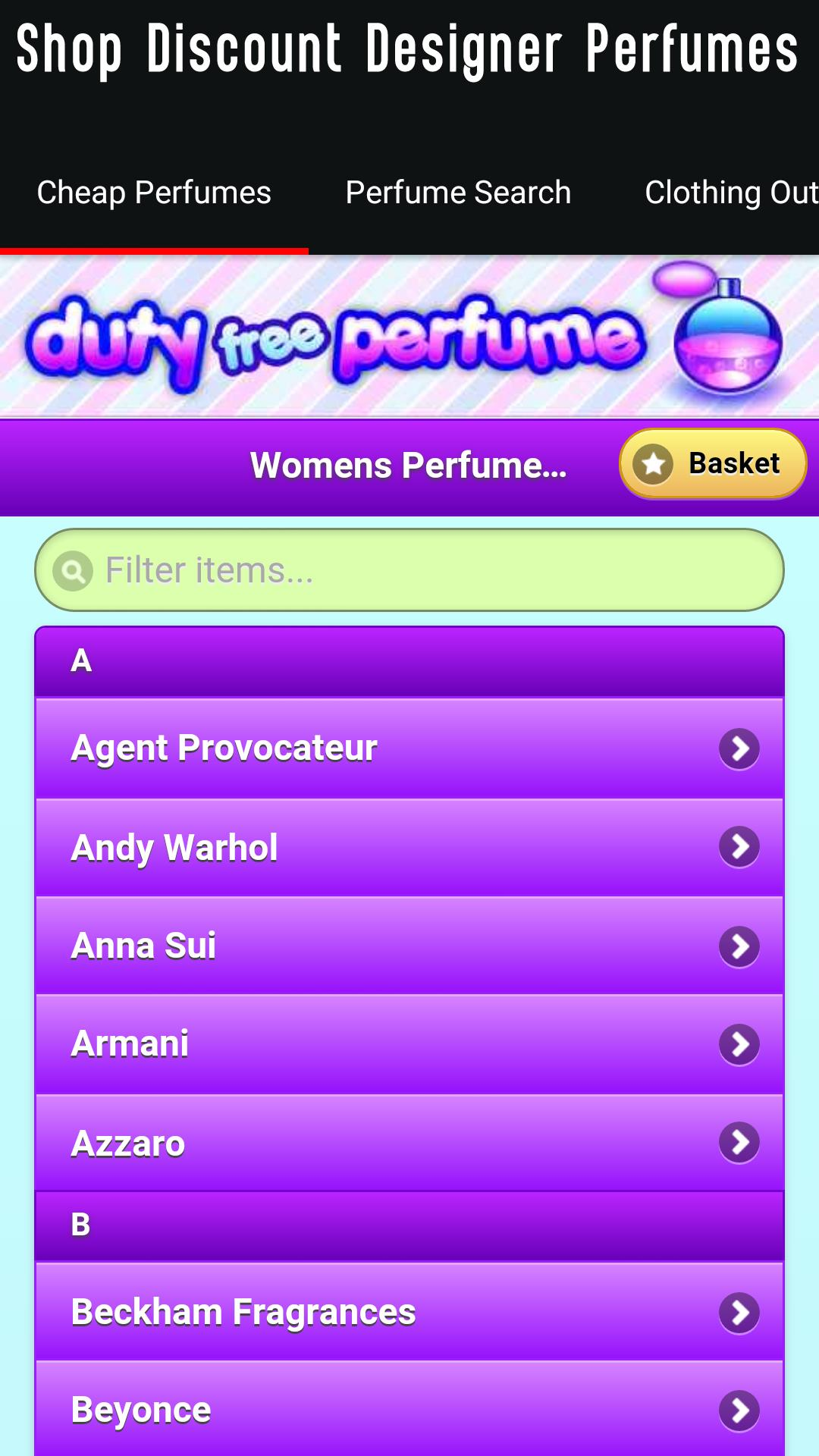 Fragrance Perfume Shopping app for Android - APK Download