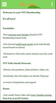 Thriving Young Teachers poster
