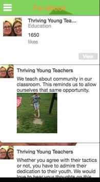 Thriving Young Teachers apk screenshot