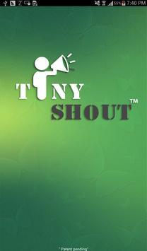 TinyShout-Proximity Messenger apk screenshot