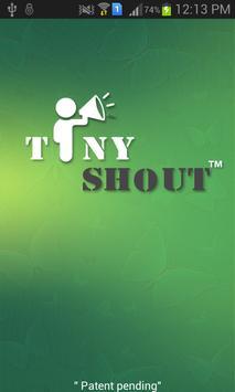 TinyShout-Proximity Messenger poster