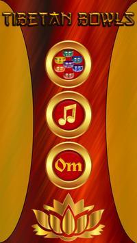 Tibetan Singing Bowls Chakra poster