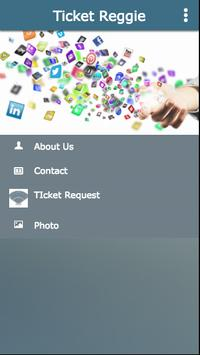 TICKET REGGIE apk screenshot