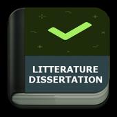 Littérature - Dissertation icon