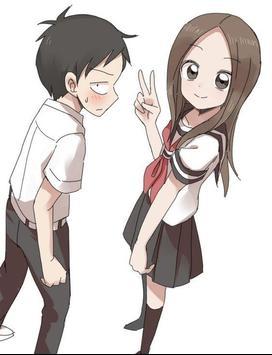 Skilled Teaser Takagi Anime Wallpaper screenshot 7