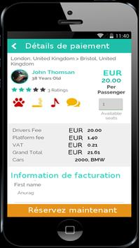 TOPcovoiturage-covoiturage screenshot 4
