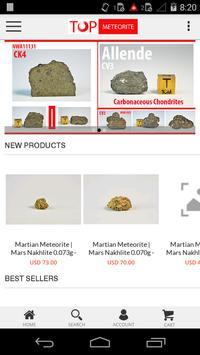Top Meteorite poster