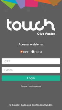Touch Clubpontos poster