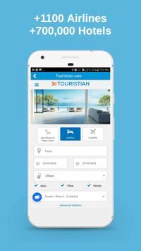 Touristian Hotels, Flights & Cars screenshot 5
