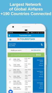 Touristian Hotels, Flights & Cars screenshot 1