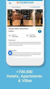 Touristian Hotels, Flights & Cars screenshot 2