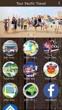LỊCH KHỞI HÀNH PACIFIC TRAVEL poster