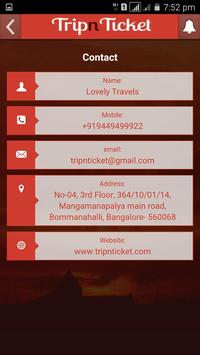Trip N Ticket apk screenshot