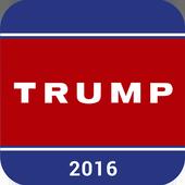 Trump 2016 APP icon