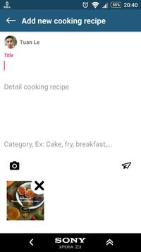 Food recipes with breakfast and dinner ideas screenshot 7