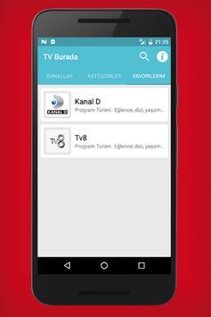Tv Burada - Canlı Tv screenshot 3
