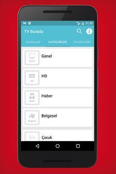 Tv Burada - Canlı Tv screenshot 6