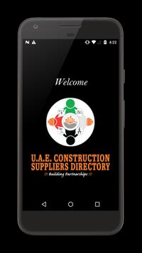UAE CONSTRUCTION DIRECTORY poster