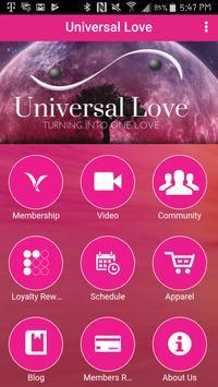 Universal Love poster
