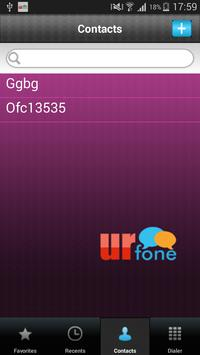 urfone 1.0.3 screenshot 2