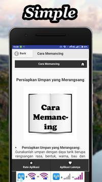 Cara Memancing Dengan Benar apk screenshot
