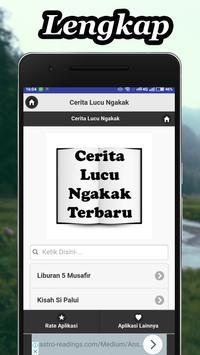 Cerita Lucu Ngakak Terbaru screenshot 1