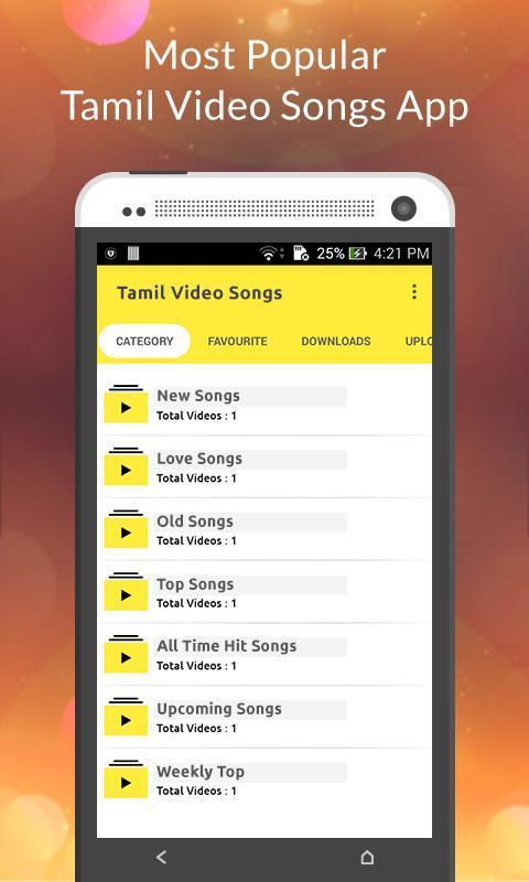 new tamil video songs download app