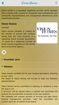 Vision Homes Lambeth apk screenshot