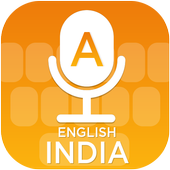 English (India) Voice Typing Keyboard icon