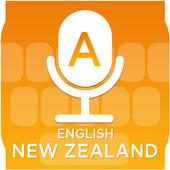 English (New Zealand) Voice Typing Keyboard icon