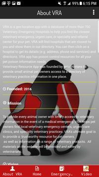 Veterinary Resource App screenshot 1