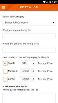 Wage - Your job, Your choice apk screenshot