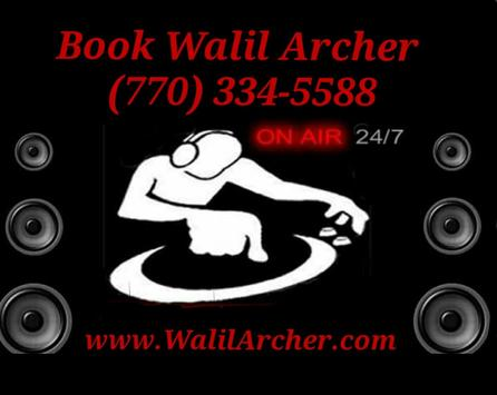 WalilArcher.com poster