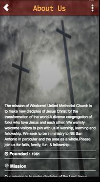 Windcrest UMC poster