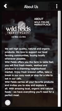 Wild Fields Marketplace poster
