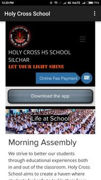 Holy Cross School Silchar apk screenshot