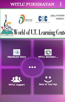 World of I.T. Learning Center poster